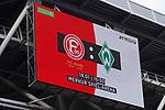 18.01.2020, Merkur Spielarena, Duesseldorf , GER, 1. FBL,  Fortuna Duesseldorf vs. SV Werder Bremen,<br />  <br /> DFL regulations prohibit any use of photographs as image sequences and/or quasi-video<br /> <br /> im Bild / picture shows: <br /> Ankuendigung <br /> <br /> Foto © nordphoto / Meuter