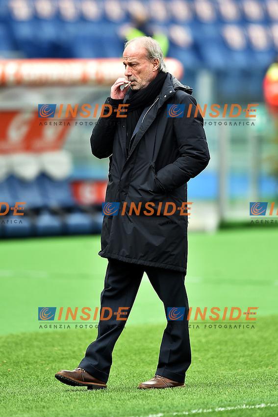Walter Sabatini <br /> Roma 15-02-2015 Stadio Olimpico, Football Calcio Serie A AS Roma - Parma Foto Andrea Staccioli / Insidefoto