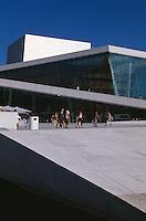 Norwegen, Oslo, Operahuset (Oper) im Bjrrvika Sund