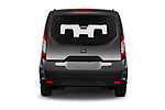 Straight rear view of 2019 Ford Tourneo-Connect Trend 5 Door Mini Mpv Rear View  stock images