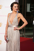 London, UK. 8 May 2016. Actress Kara Tointon. Red carpet  celebrity arrivals for the House Of Fraser British Academy Television Awards at the Royal Festival Hall.