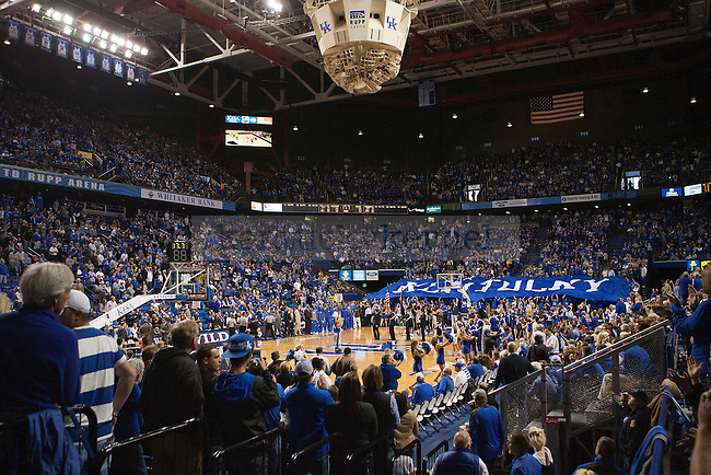 A overall view of Rupp Arena before the Kentucky Wildcats against the Providence Friars on Sunday, November 30, 2014 in Lexington, Ky. Kentucky defeated Providence 58-38. Photo by Michael Reaves | Staff