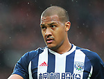Salomon Rondon of West Bromwich Albion during the premier league match at the Old Trafford Stadium, Manchester. Picture date 15th April 2018. Picture credit should read: Simon Bellis/Sportimage