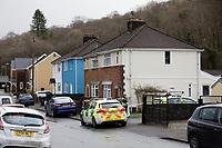 2020 01 28 Body found, Pontwalby, Glynneath, Wales, UK