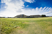 3rd October 2017, The Old Course, St Andrews, Scotland; Alfred Dunhill Links Championship, practice round; General view of the on the Old Course, St Andrews and the Old Course Hotel during practice ahead of the Alfred Dunhill Links Championship