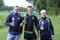 FIERJEPPEN: BUITENPOST: 12-07-2017, FLB topklasse wedstrijd, ©Martin de Jong