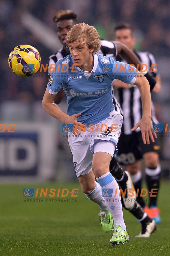 Dusan Basta Lazio.<br /> Roma 22-11-2014 Stadio Olimpico. Football Calcio 2014/2015 Serie A. Lazio - Juventus. Foto Antonietta Baldassarre / Insidefoto