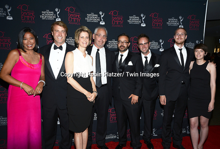 Richard Wiese and crew attends the 40th Annual Daytime Creative Arts Emmy Awards on June 14, 2013 at the Westin Bonaventure Hotel in Los Angeles, California.