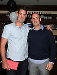Brendan O'Brien celebrating his 40th birthday at Daly's in Donore with brother Fintan. Photo: www.pressphotos.ie
