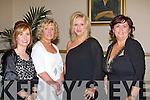 DINNER: Having great fun at the Kerins O'Rahillys annual social at Strand Road, Tralee on Saturday l-r: Kay Hayes, Mena Nolan, Melissa Ryan and Mags Brick..