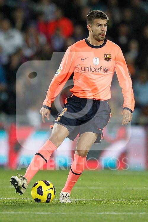 GETAFE, Madrid (07/11/2010).- Spanish League match Getafe vs Barcelona. ...Photo: Cesar Cebolla / ALFAQUI