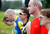 Photo: Richard Lane/Richard Lane Photography. GE Strathclyde Park Triathlon. 02/09/2012. Age Group Start.