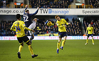 Blackburn Rovers' Harrison Reed and Millwall's Aiden O'Brien<br /> <br /> Photographer Rob Newell/CameraSport<br /> <br /> The EFL Sky Bet Championship - Millwall v Blackburn Rovers - Saturday 12th January 2019 - The Den - London<br /> <br /> World Copyright &copy; 2019 CameraSport. All rights reserved. 43 Linden Ave. Countesthorpe. Leicester. England. LE8 5PG - Tel: +44 (0) 116 277 4147 - admin@camerasport.com - www.camerasport.com