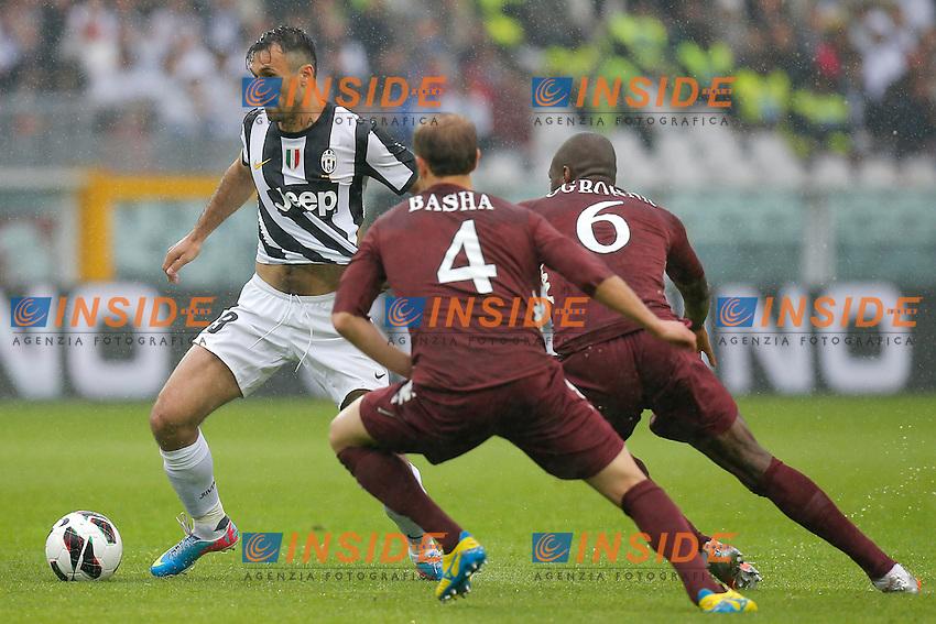 Mirko Vucinic Juventus, Torino 28/4/2013 .Stadio Olimpico.Football Calcio 2012/2013 Serie A.Torino Vs Juventus.Foto Marco Bertorello Insidefoto