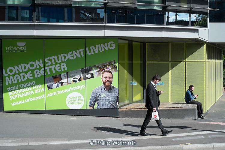 Urbanest private student accommodation near Tower Bridge London