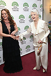 Melissa Errico and Angela Lansbury attends the 'Sondheim at Seven' 2017 Gala Benefit Production at Town Hall on June 13, 2017 in New York City.