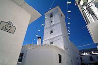 Andalusien, Die Kirche im Dorf Capileira in den Alpujarras (Alpujarra granadina), Spanien