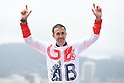 Andrew Lewis (GBR), <br /> SEPTEMBER 10, 2016 - Triathlon : <br /> Men's Individual Paratriathlon PT2 Medal Ceremony<br /> at Fort Copacabana<br /> during the Rio 2016 Paralympic Games in Rio de Janeiro, Brazil.<br /> (Photo by AFLO SPORT)