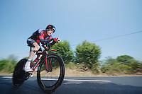 Brent Bookwalter (USA)<br /> <br /> Tour de France 2013<br /> stage 11: iTT Avranches - Mont Saint-Michel <br /> 33km