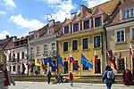 Kamienice na sandomierskim rynku, Polska<br /> Townhouses on Sandomierz market, Poland