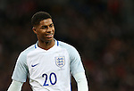 England's Marcus Rashford in action during the friendly match at Wembley Stadium, London. Picture date November 15th, 2016 Pic David Klein/Sportimage