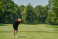 Laura Davies (ENG) watches her tee shot on 11 during round 2 of the 2018 KPMG Women's PGA Championship, Kemper Lakes Golf Club, at Kildeer, Illinois, USA. 6/29/2018.<br /> Picture: Golffile | Ken Murray<br /> <br /> All photo usage must carry mandatory copyright credit (© Golffile | Ken Murray)
