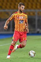 Panagiotis Tachsidis of US Lecce in action during the Serie A football match between US Lecce and UC Sampdoria at Via del Mare stadium in Lecce ( Italy ), July 1st, 2020. Play resumes behind closed doors following the outbreak of the coronavirus disease. <br /> Photo Carmelo Imbesi / Insidefoto