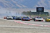 Pirelli World Challenge<br /> Grand Prix of Utah<br /> Utah Motorsports Campus, Tooele, UT USA<br /> Sunday 13 August 2017<br /> Ryan Eversley/ Tom Dyer, Peter Kox/ Mark Wilkins<br /> World Copyright: Richard Dole/LAT Images