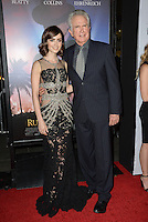LOS ANGELES, CA. November 10, 2016: Actress Lily Collins &amp; actor/director Warren Beatty at World Premiere of &quot;Rules Don't Apply&quot;, part of the AFI Fest 2016, at the TCL Chinese Theatre, Hollywood.<br /> Picture: Paul Smith/Featureflash/SilverHub 0208 004 5359/ 07711 972644 Editors@silverhubmedia.com