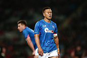 16th June 2017, Eden Park, Auckland, New Zealand; International Rugby Pasifika Challenge; New Zealand versus Samoa;  Tim Nanai-Williams of Samoa looks on
