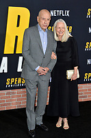 """LOS ANGELES, CA: 27, 2020: Alan Arkin & Suzanne Newlander Arkin at the world premiere of """"Spenser Confidential"""" at the Regency Village Theatre.<br /> Picture: Paul Smith/Featureflash"""