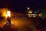 Bonfire At Altos De Caño Honda
