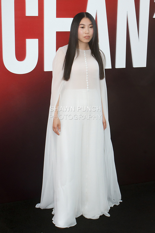 Awkwafina arrives at the World Premiere of Ocean's 8 at Alice Tully Hall in New York City, on June 5, 2018.