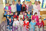 Pyjama Day: Children and staff at the  pyjama fund raising day which was held at the Listowel Family Resource Centre on Friday in aid of the Make A Wish Foundation.