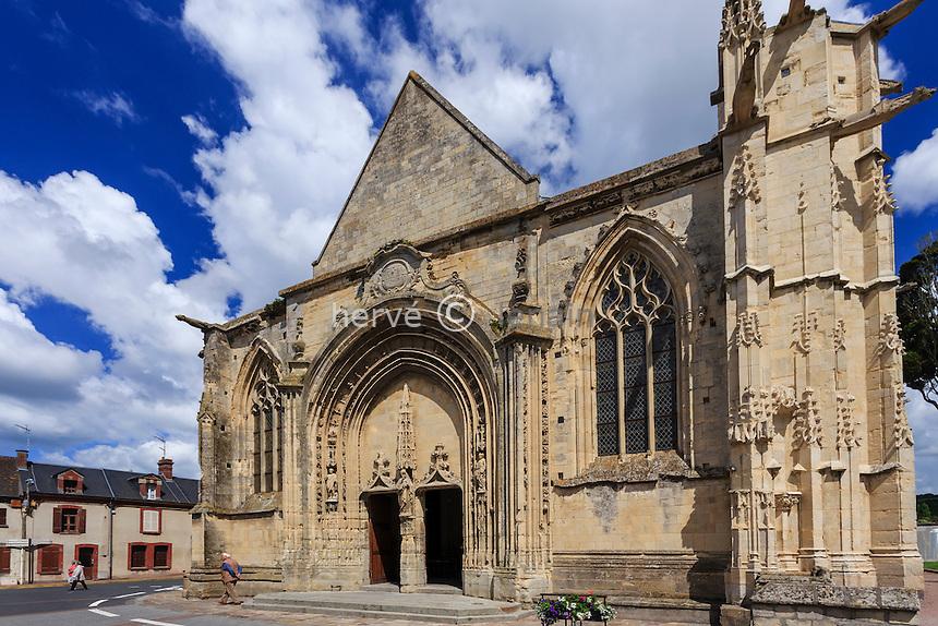 France, Calvados (14), Dives-sur-Mer, l'église Notre-Dame // France, Calvados, Dives sur Mer, Notre Dame church