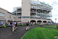 Images from around the track on Spiral Stakes Day on March 24, 2012 at Turfway Park in Florence, Kentucky.  (Bob Mayberger/Eclipse Sportswire)