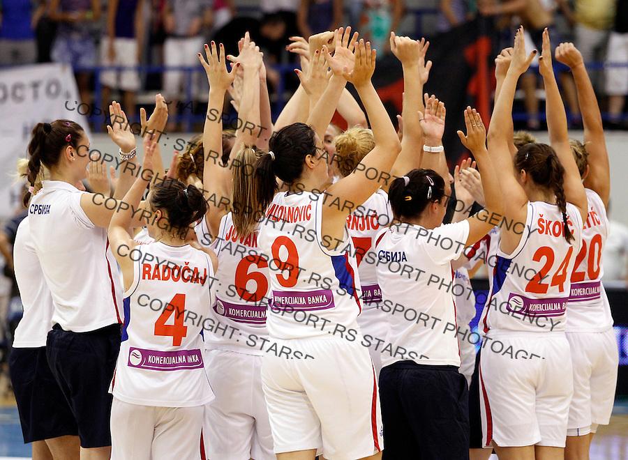 Serbia - Montenegro, Crna Gora Eurobasket  Women Belgrade, Serbia, 30 June 2012. Belgrade, Serbia (credit: Pedja Milosavljevic/thepedja@gmail.com/+381641260959).
