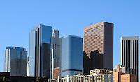 Skyscraper Buildings in Downtown Los Angels California