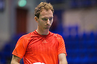 Rotterdam,Netherlands, December 15, 2015,  Topsport Centrum, Lotto NK Tennis, Matwe Middelkoop (NED)<br /> Photo: Tennisimages/Henk Koster
