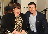 Former Kerry footballer and  Dancing with the Stars winner Aidan OÕMahony with Bridget O'Gorman, Kilcummin,  at the opening of the Irish Wheelchair Association new Community Centre at The Reeks Gateway, Killarney on Friday.   Picture: macmonagle.com