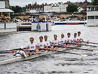 Henley Royal Regatta, Henley on Thames, Oxfordshire, 28 June - 2 July 2017.  Wednesday  15:37:07   28/06/2017  [Mandatory Credit/Intersport Images]<br /> <br /> Rowing, Henley Reach, Henley Royal Regatta.<br /> <br /> The Temple Challenge Cup<br /> Cornell University 'B', U.S.A.
