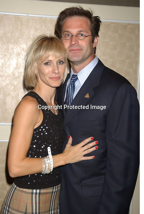 ..Kelley and John Hensley..at the Ninth Annual Daytime Television Salutes St. Judes Children's Research Hospital benefit in New York City on ..October 10, 2003 at the Marriott Marquis Hotel.