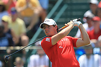 Rory McIlroy (NIR) tees off the 1st tee to start his match Sunday's Final Round of the 94th PGA Golf Championship at The Ocean Course, Kiawah Island, South Carolina, USA 11th August 2012 (Photo Eoin Clarke/www.golffile.ie)