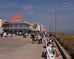 Along the Boardwalk at Rehoboth Beach, Delaware, USA.  © Rick Collier