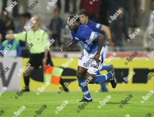 2009-09-19 / Voetbal / seizoen 2009-2010 / KV Turnhout / Guy Bertrand Ngon..Foto: Maarten Straetemans (SMB)