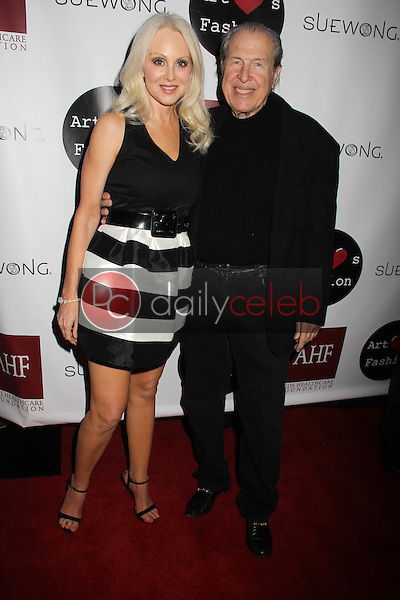 "Donna Spangler, Richard Benveniste<br /> at the Sue Wong ""Mythos and Goddesses"" Fashion Show, Taglyan Complex, Los Angeles, CA 03-09-15<br /> David Edwards/DailyCeleb.com 818-249-4998"