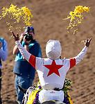 November 2, 2019 : on Breeders' Cup Championship Saturday at Santa Anita Park in Arcadia, California on November 2, 2019. Chris Crestik/Eclipse Sportswire/Breeders' Cup/CSM