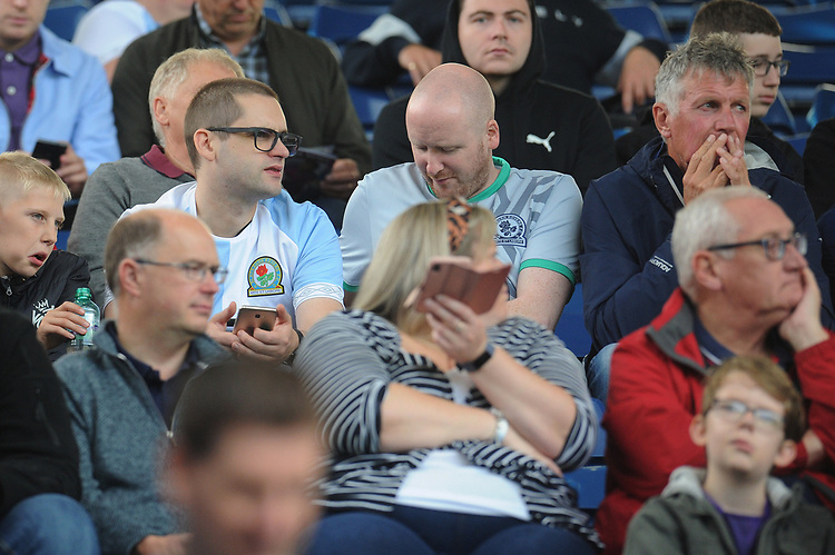 Blackburn Rovers fans enjoy the pre-match atmosphere <br /> <br /> Photographer Kevin Barnes/CameraSport<br /> <br /> The EFL Sky Bet Championship - West Bromwich Albion v Blackburn Rovers - Saturday 31st August 2019 - The Hawthorns - West Bromwich<br /> <br /> World Copyright © 2019 CameraSport. All rights reserved. 43 Linden Ave. Countesthorpe. Leicester. England. LE8 5PG - Tel: +44 (0) 116 277 4147 - admin@camerasport.com - www.camerasport.com