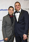 Ty Defoe and Joseph Haj during a reception for Theatre Forward's Chairman's Awards Gala at the Pierre Hotel on April 8, 2019 in New York City.