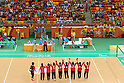 Japan team group (JPN),<br /> SEPTEMBER 14, 2016 - Goalball : <br /> Quater-Final <br /> match between Japan - China<br /> at Future Arena<br /> during the Rio 2016 Paralympic Games in Rio de Janeiro, Brazil.<br /> (Photo by Shingo Ito/AFLO)